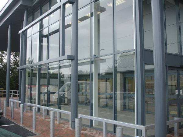 SGR curtain walling
