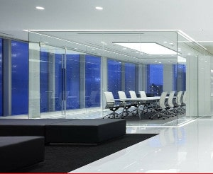 Glass office partitions Stoke On Trent